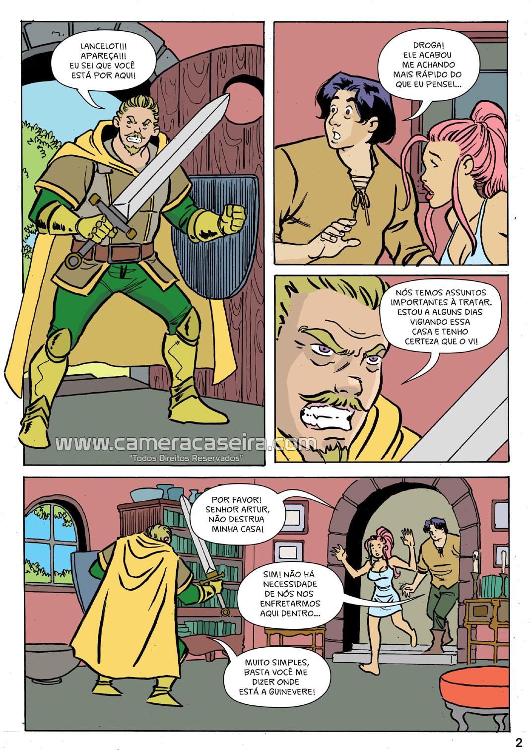 Lancelot e o Rei Artur