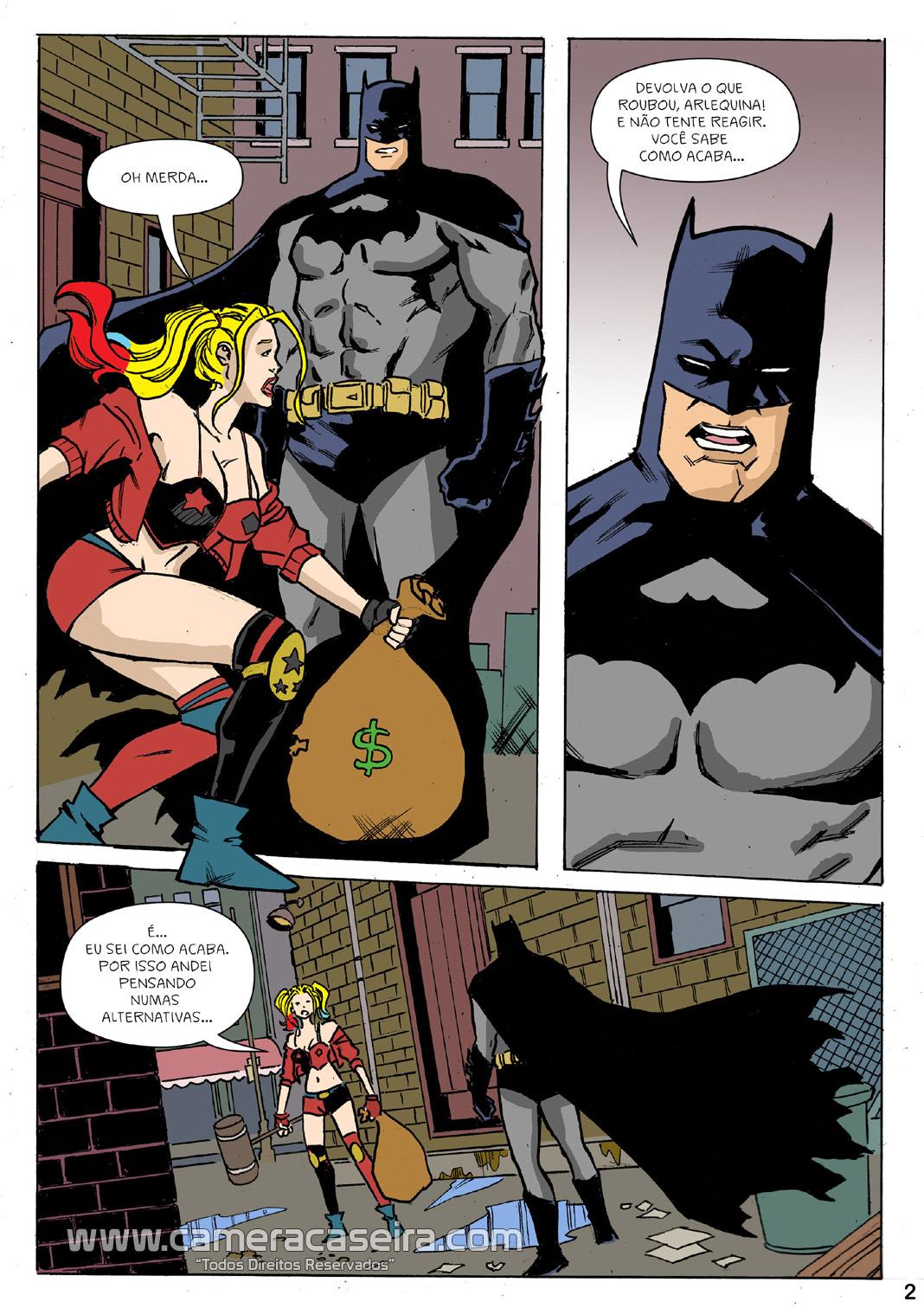 Seduzindo o Homem Morcego