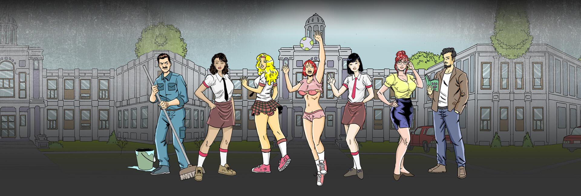 As Novinhas da Escola