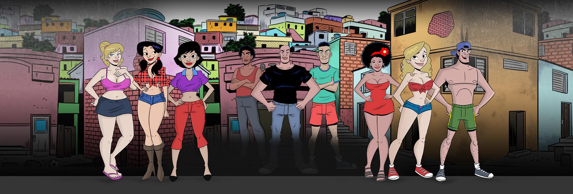 Putarias na Favela